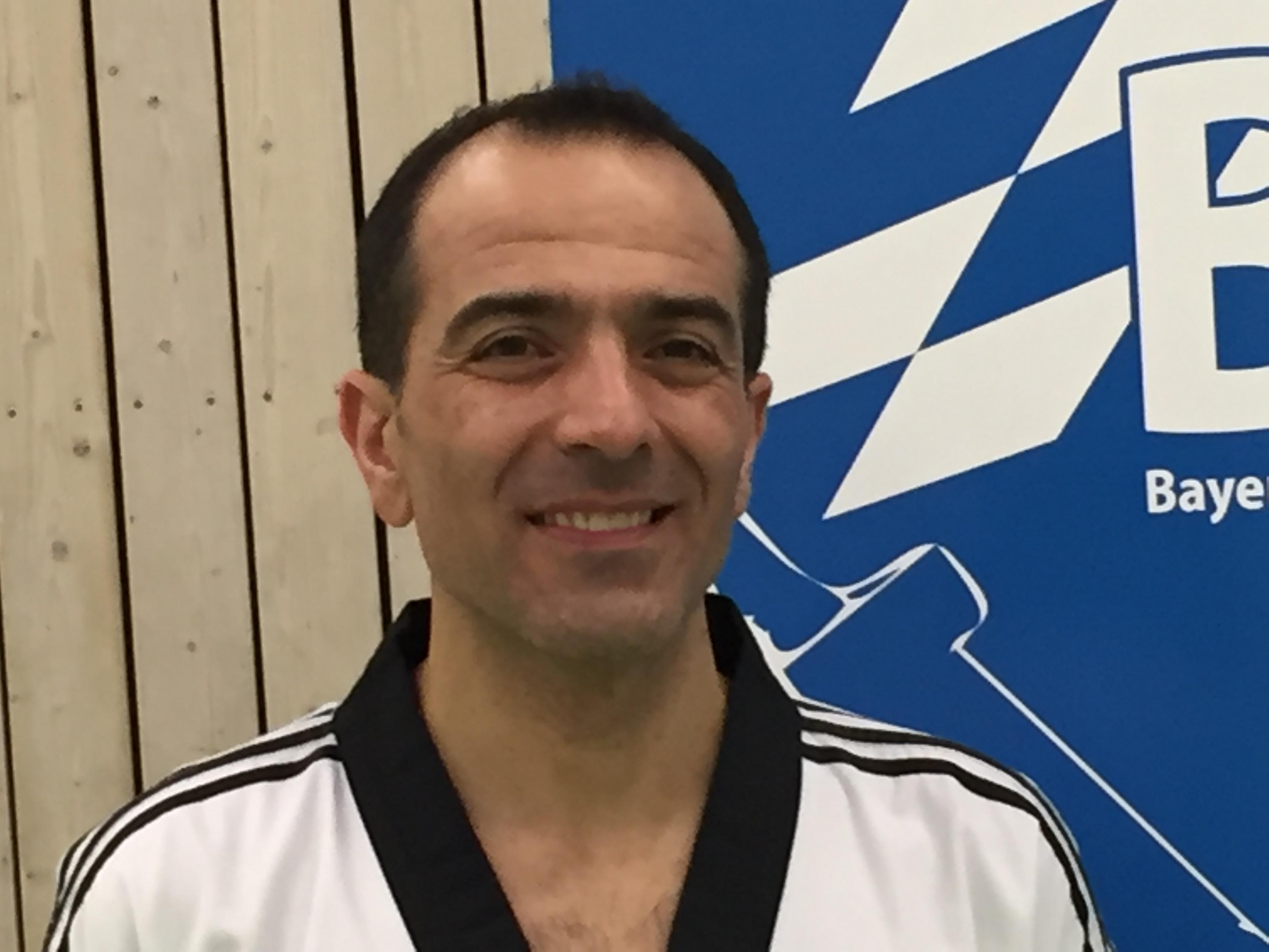 Bülent Saritas Trainer Taekwondoverein Füssen Allgäu